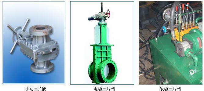 三片式矿浆阀